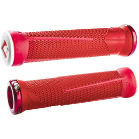 ODI AG1 Signature Lock-On 2.1 MTB Grips, red/fire red